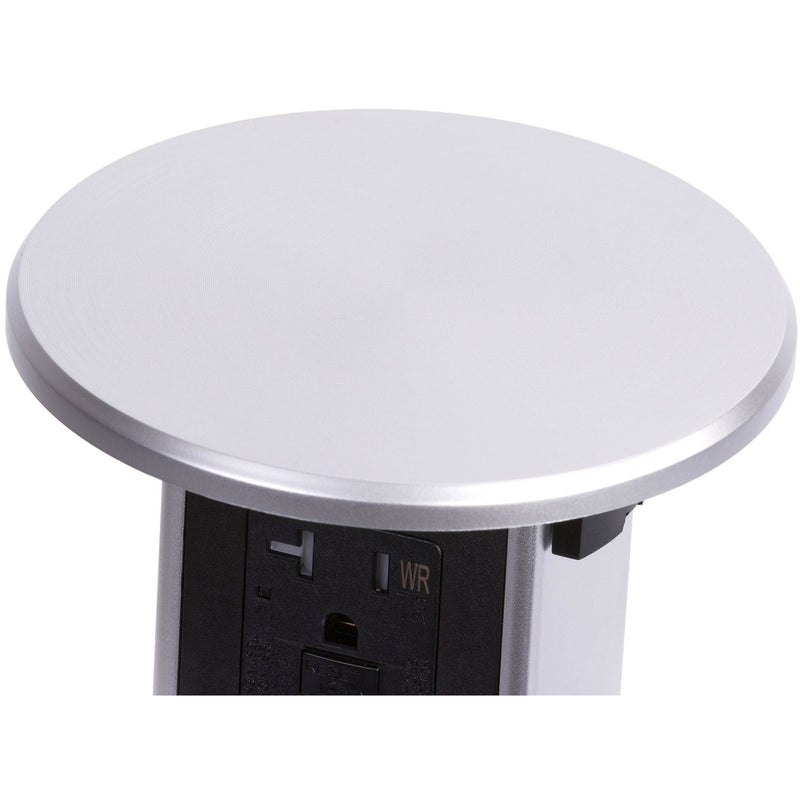 Stainless Plastic Wireless Charging Kitchen Pop Up Outlet Top