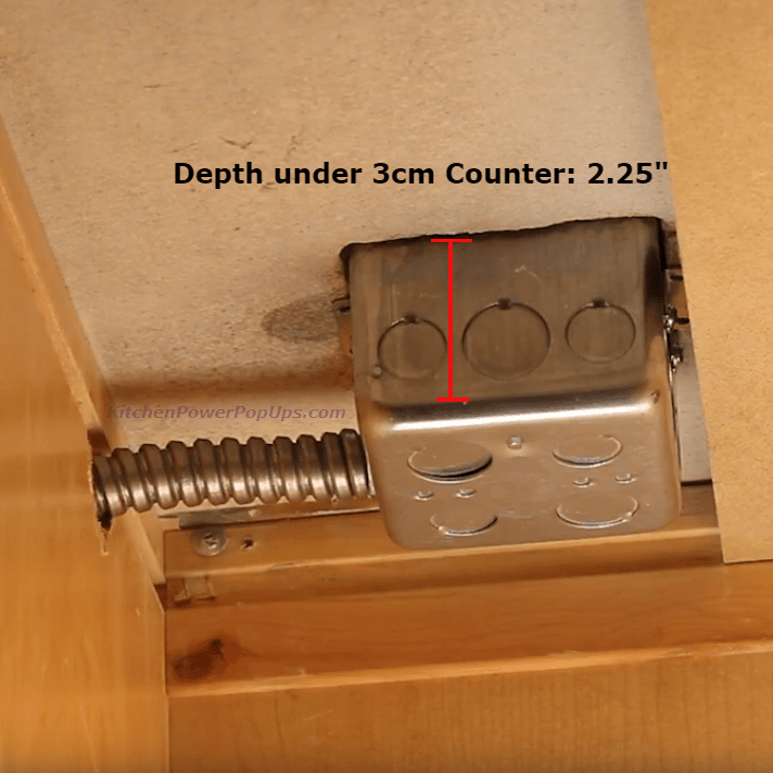 Lew Electric PUFP-CT Depth Under Counter