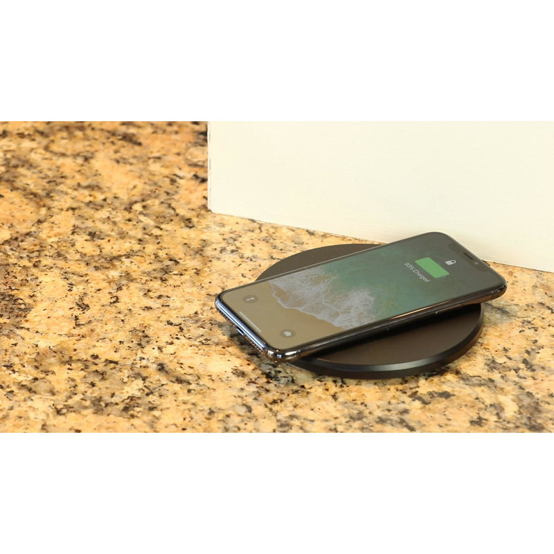 Countertop Pop Up Outlet Charging Phone, Closed