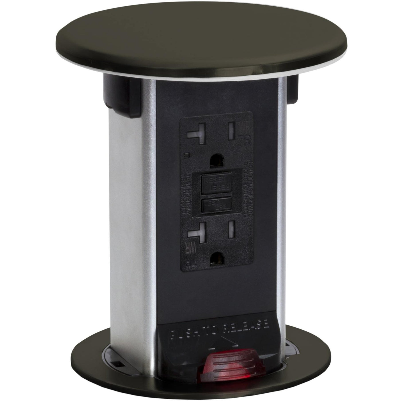 Lew Electric Pur20 Db Kitchen Waterproof Pop Up 20a Gfci Dark How Gfcis Work Content From Electrical Construction Bronze