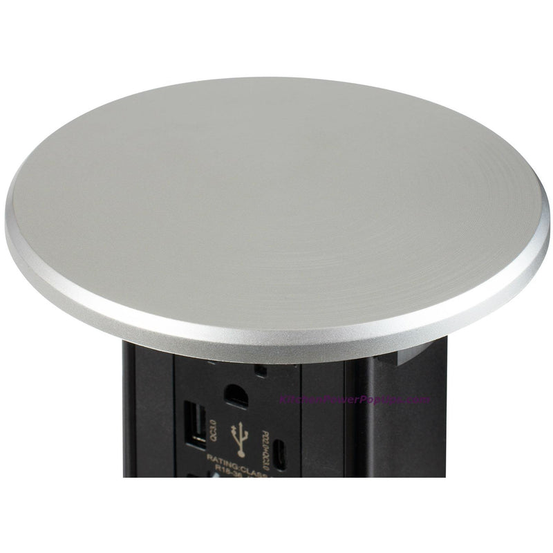 Stainless plastic wireless charging top