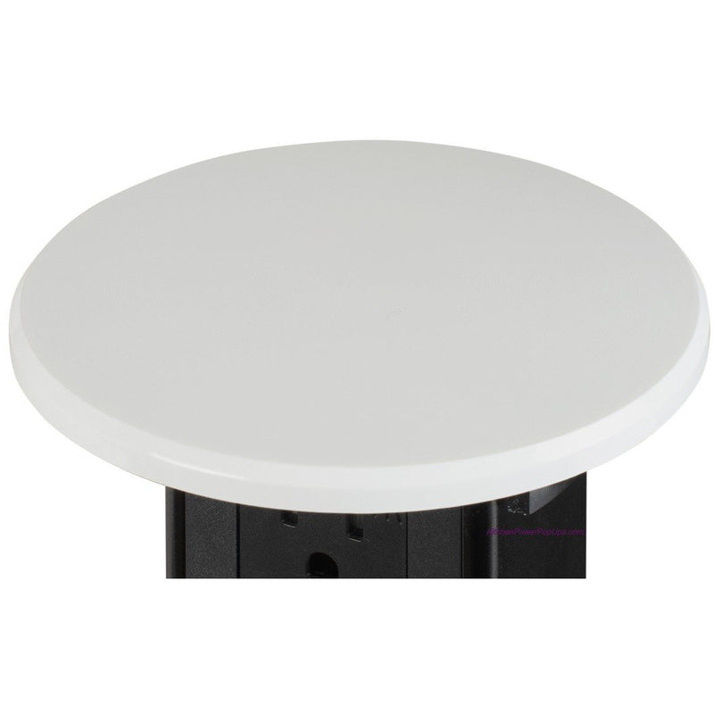 Countertop Pop Up 20A GFCI Protected, Wireless QI Charging, White