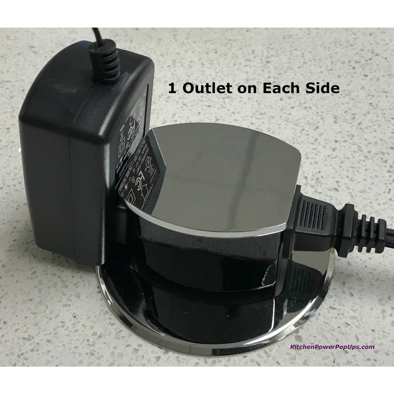 Hubbell Dual Sided Pop Up 2 Outlets