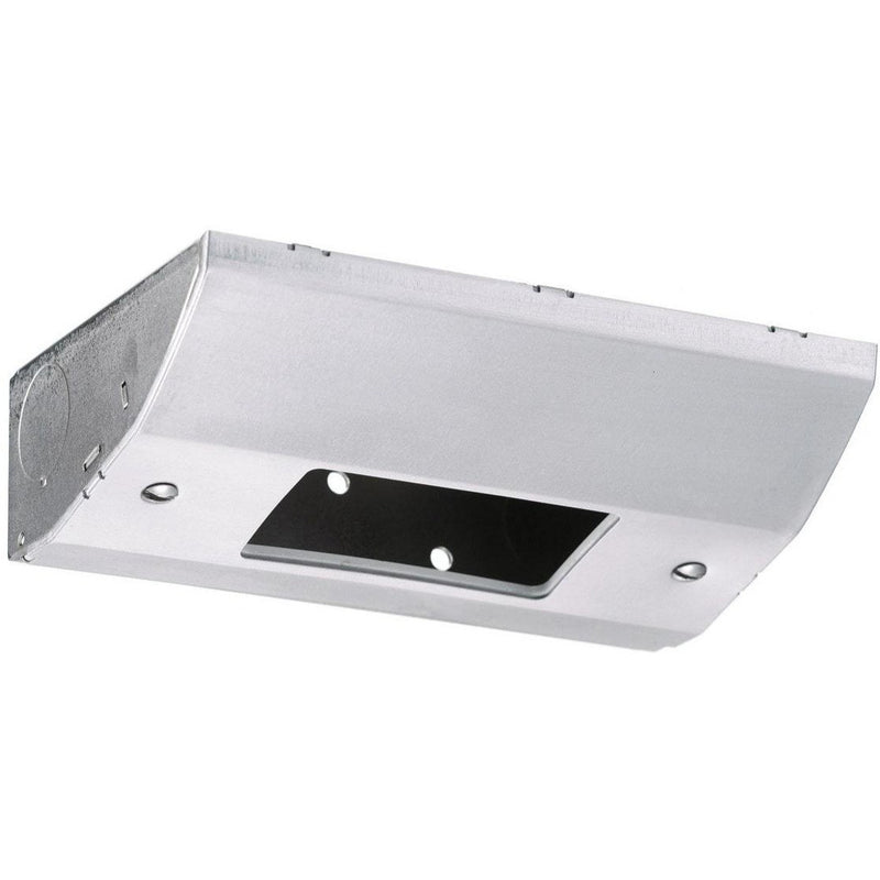 Under Cabinet Low Profile GFCI Power Outlet / Light Switch Box, Stainless