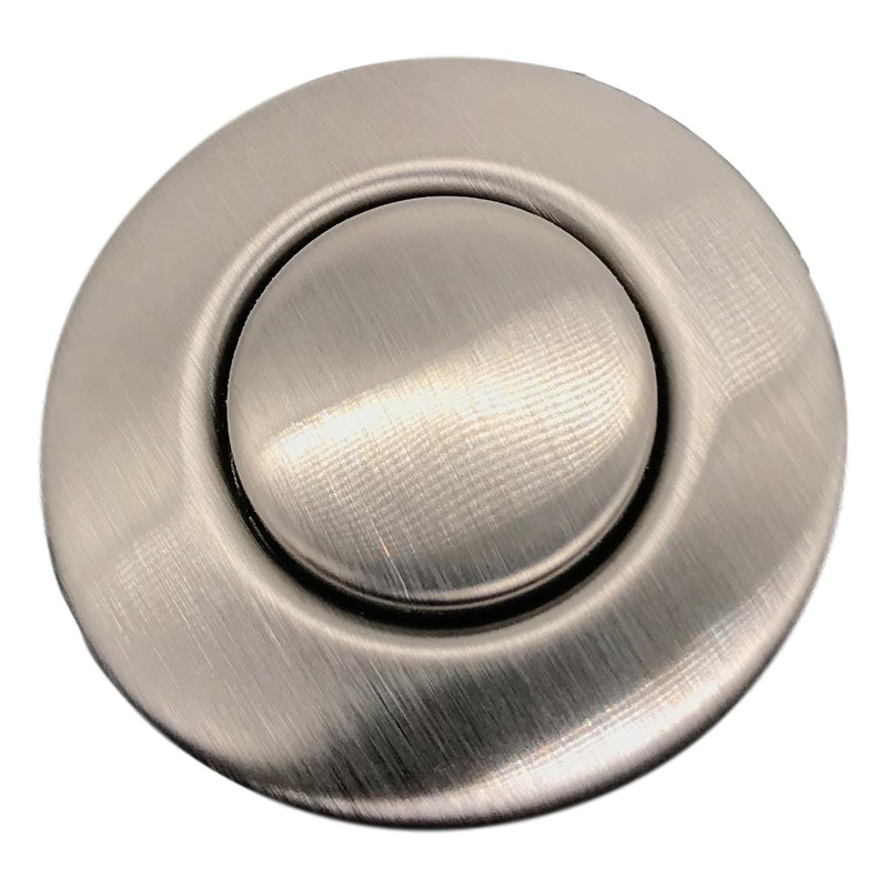 Push Button Air Switch, Stainless Steel, Top View