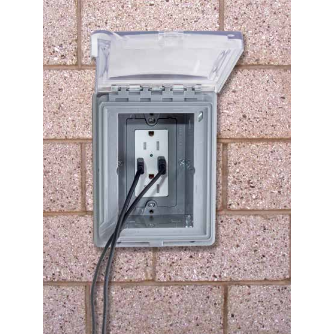 Hubbell USB15AC5WWR USB Outdoor Charging WR Rated Outlet