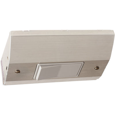 Under Cabinet Slim Light Switch Box, Stainless Steel