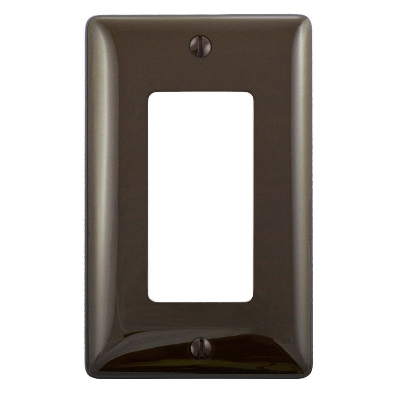 Brown matching wall plate