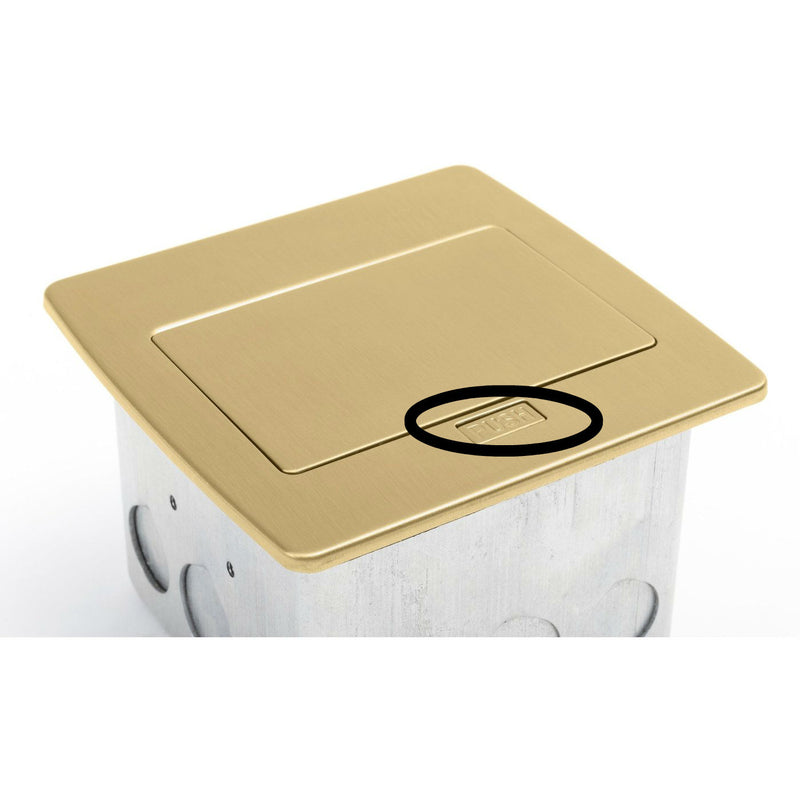 PUFP-CT Brass Replacement Button