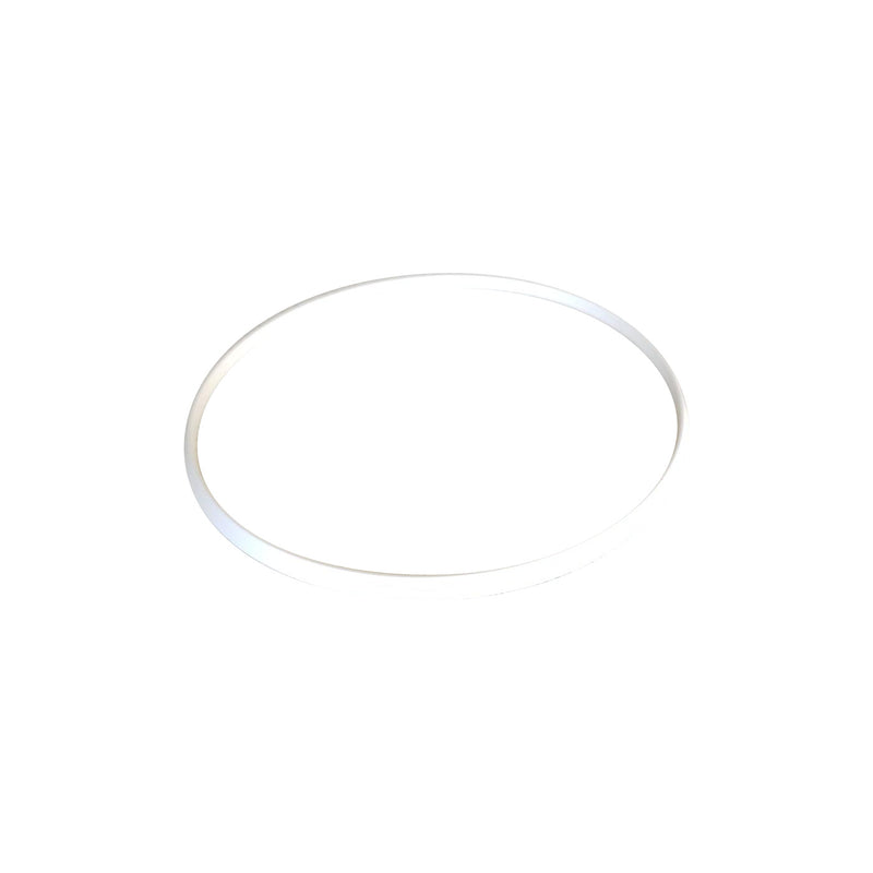 White Plastic Trim Ring for PUR-QI Series Pop Ups