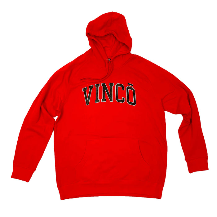 P.E Hood Sweat Shirt Red
