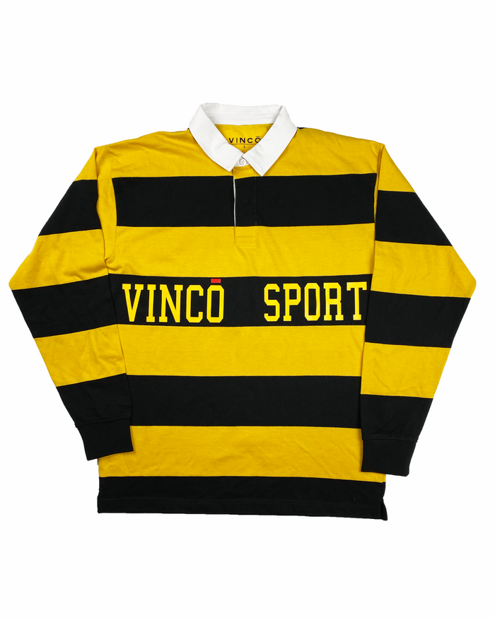 Vincō Sport Polo Yellow