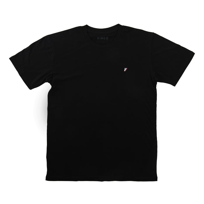 V Embroidered Tee