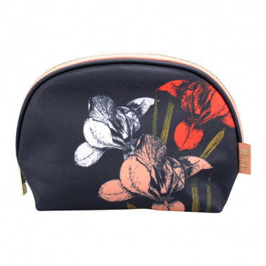 Cosmetic Bag - RHS (Oilcloth Irises & Hellebores)