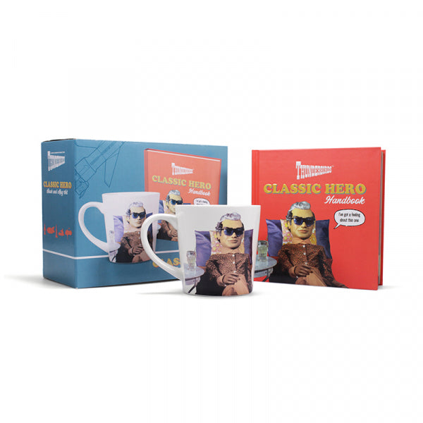 Giftset Book & Mug: Thunderbirds (Classic Hero)