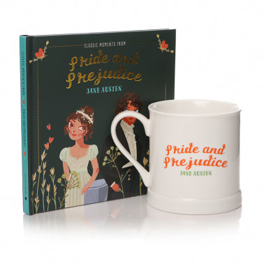 Giftset Book & Mug: IHB (Classic Moments Pride & Prejudice)