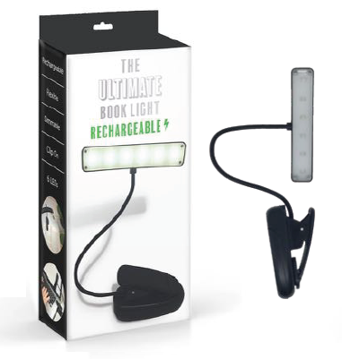 The Ultimate Book Light Rechargeable - Black