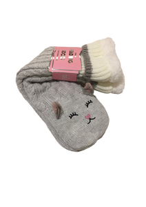 Reading Socks - Grey Cat Women