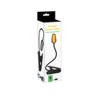 Amber Book Light Rechargeable - Black