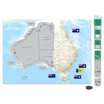 AG Australia Scratch Map