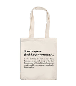 Tote Bag -  Book Hangover