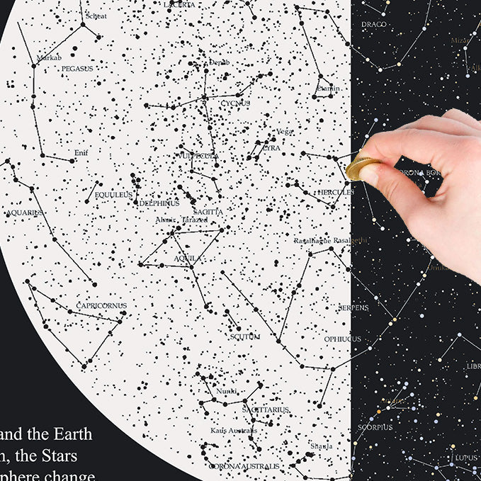 Star Scratch Map