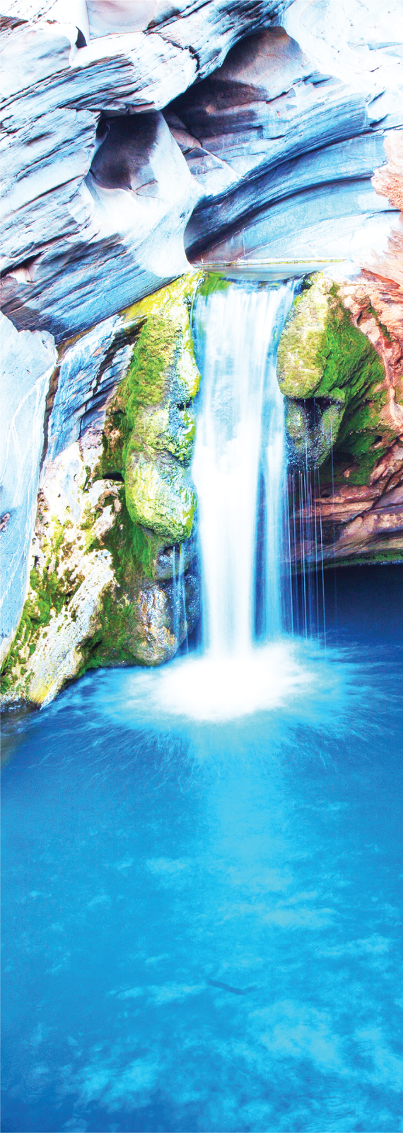 3D AG Waterfall Pilbura