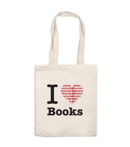 Tote Bag - I Love Books