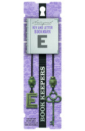 Book Keepers Bookmarks - Letter E