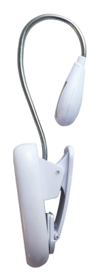 White - Rechargeable booklight