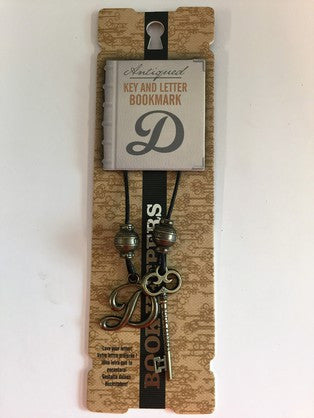 Book Keepers Bookmarks - Letter D