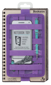 BOOKAROO NOTEBOOK TIDY - PURPLE