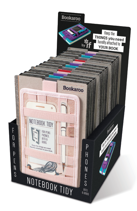 BOOKAROO NOTEBOOK TIDY SET UP 15 units
