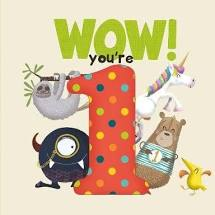 Wow! Birthday Book You're 1