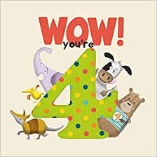 Wow! Birthday Book You're 4