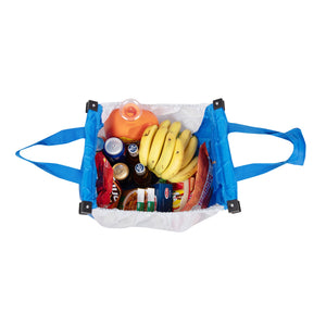 Repeat Shopper Supermarket Cart Bag - handy | sandy
