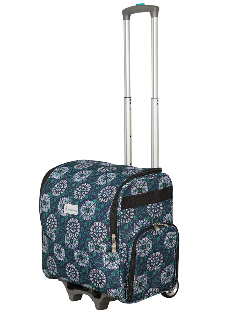 Handy Sandy Rolling Sewing Machine Bag with Wheels
