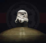 Battle-worn Storm Trooper helmet large topper