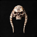 Stick-on Dark Sigil Horned Skull