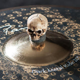 (3-Pack) Large grim skull cymbal topper