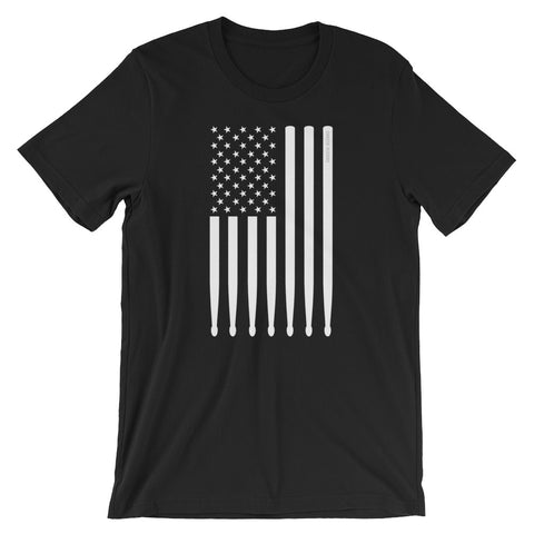 American flag, drumstick Unisex T-Shirt