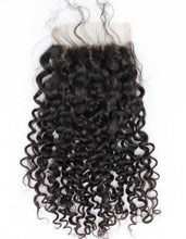 Load image into Gallery viewer, BRAZILIAN WAVE/DEEP WAVE/DEJA STRAIGHT/MALAYSIAN CURLY CLOSURES 4X4 AND HD