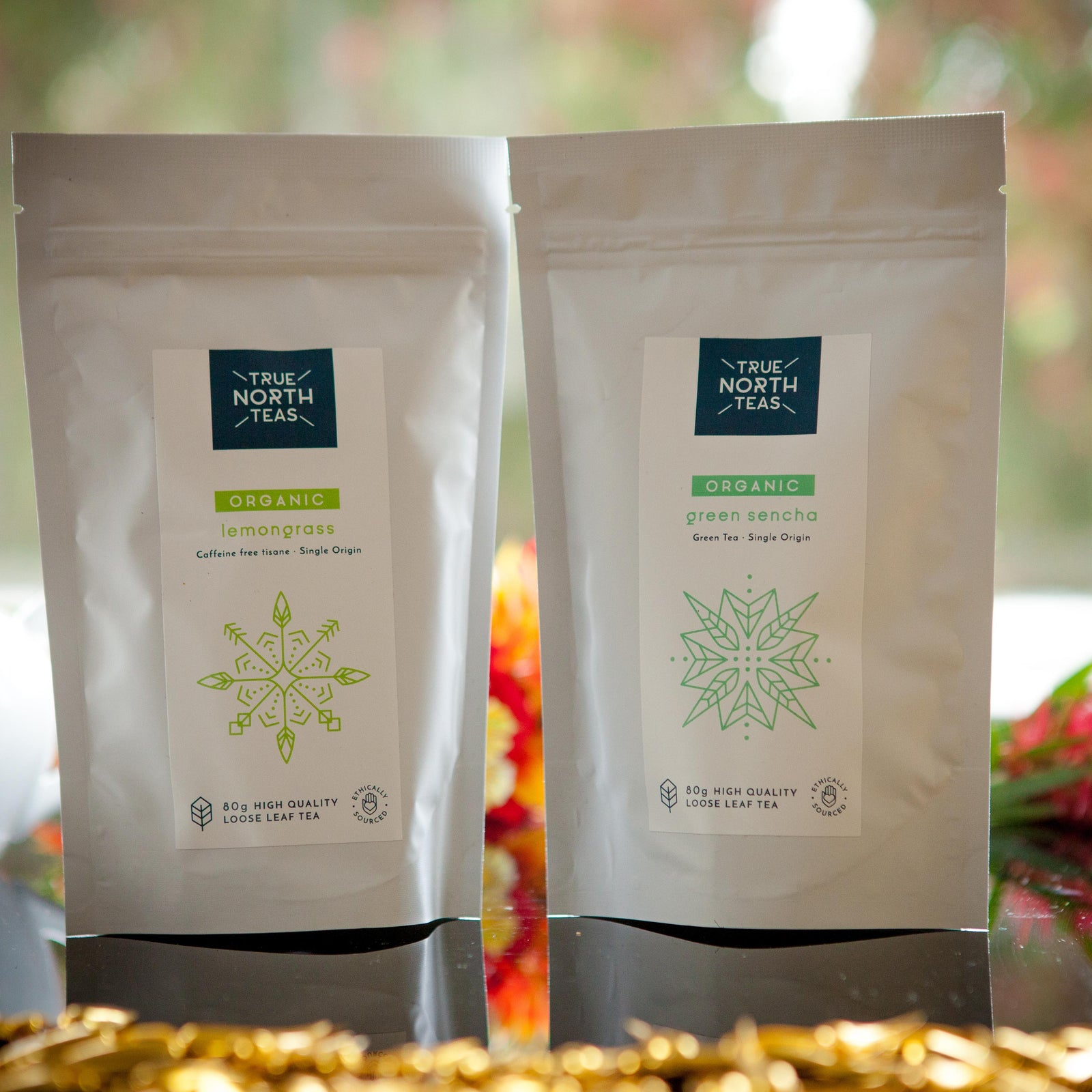 Organic Lemongrass and Green Sencha twin-pack