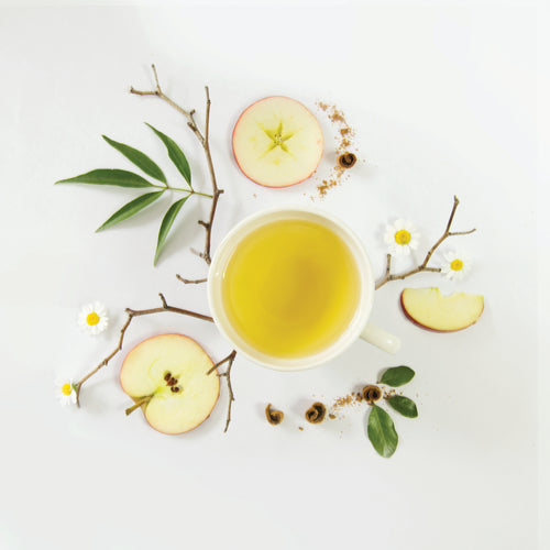 Calming Organic Chamomile Apple Spice Tea