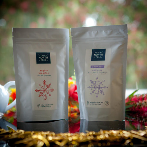 Organic English Breakfast and Earl Grey tea twin-pack