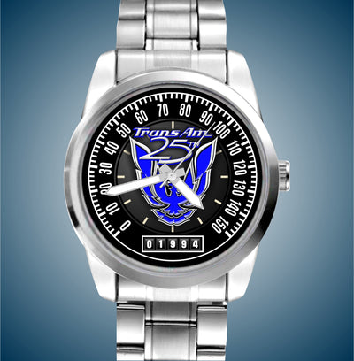 25th Anniversary Trans Am Man's Luxury Stainless Watch - FirebirdFanBase.com