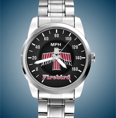 1st Gen Iconic Firebird  Luxury Stainless Watch - FirebirdFanBase.com