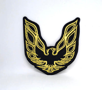 Firebird Logo Embroidered Iron On Patch - FirebirdFanBase.com
