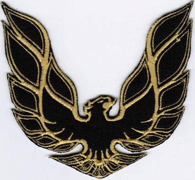 Pontiac Firebird GOLD Trans Am Automobile Car Racing Embroidered Patch - FirebirdFanBase.com