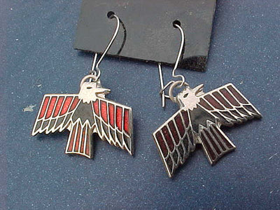 Pontiac Firebird Sterling Silver Hoop Earrings - FirebirdFanBase.com